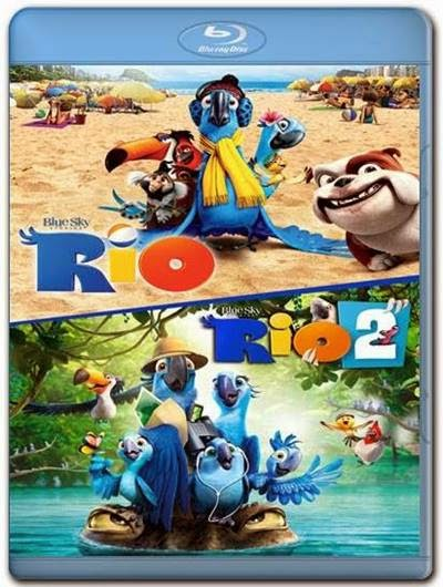 Rio 1 e 2 AVI DVDRip Dual Audio + BDRip + Bluray 720p e 1080p + 3D