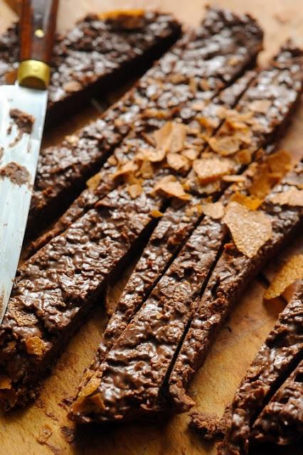 Le vendredi c'est retour vers le futur…Crunchy fingers chocolat Nutella dentelle !