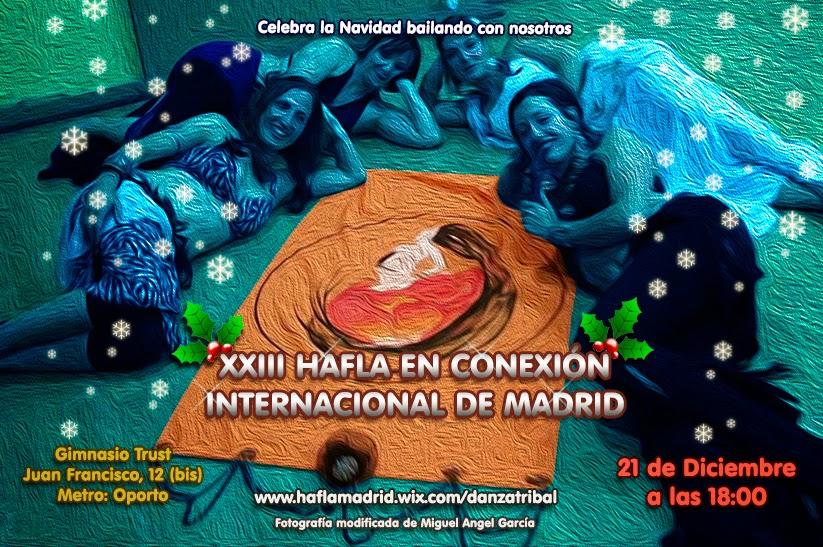 XIII Hafla en Conexión Internacional de Madrid Haflainv2014