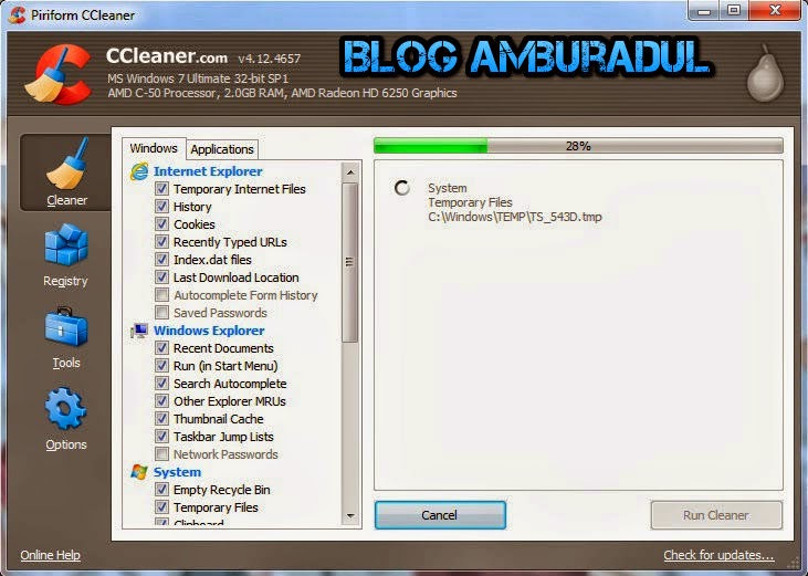 CCleaner Professional 4.12.4657 Full Crack