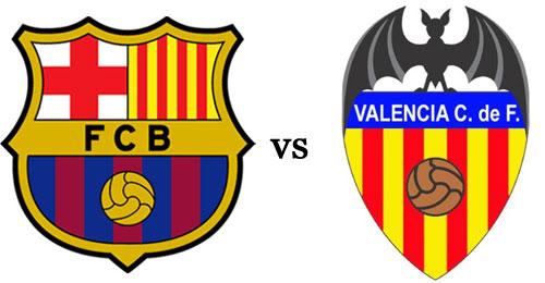 برشلونة وفالنسيا