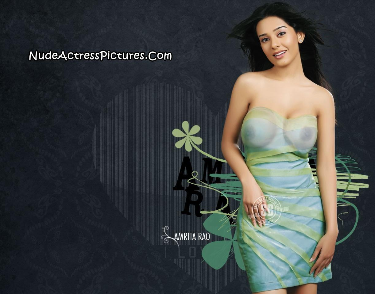 Fake Nude Picture Amrita Looking Very Sey And Hot When Try To Remove