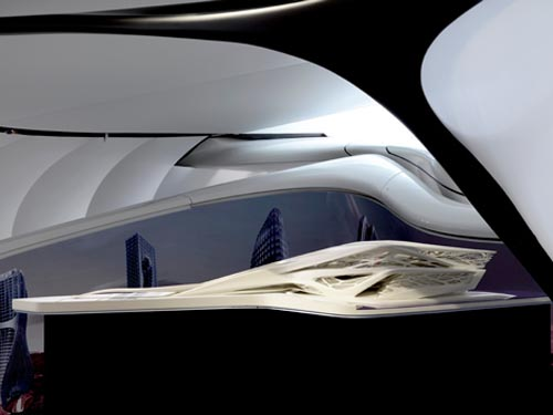 the mobile art pavilion by zaha hadid allthingabout. Black Bedroom Furniture Sets. Home Design Ideas