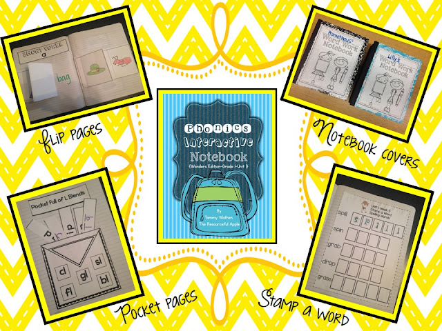 https://www.teacherspayteachers.com/Product/Phonics-Interactive-Notebook-Wonders-Supplemental-Grade-1-Unit1-1414639