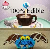 Cupcakes de Halloween - Fotos