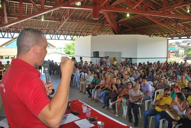 Greve dos professores de Lauro de Freitas é suspensa após 14 dias (Foto: Divulgação/Asprolf)