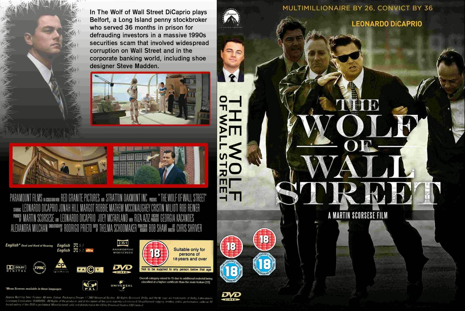 The gallery for --> Wolf Of Wall Street Cover Photo Wolf Of Wall Street Movie Cover