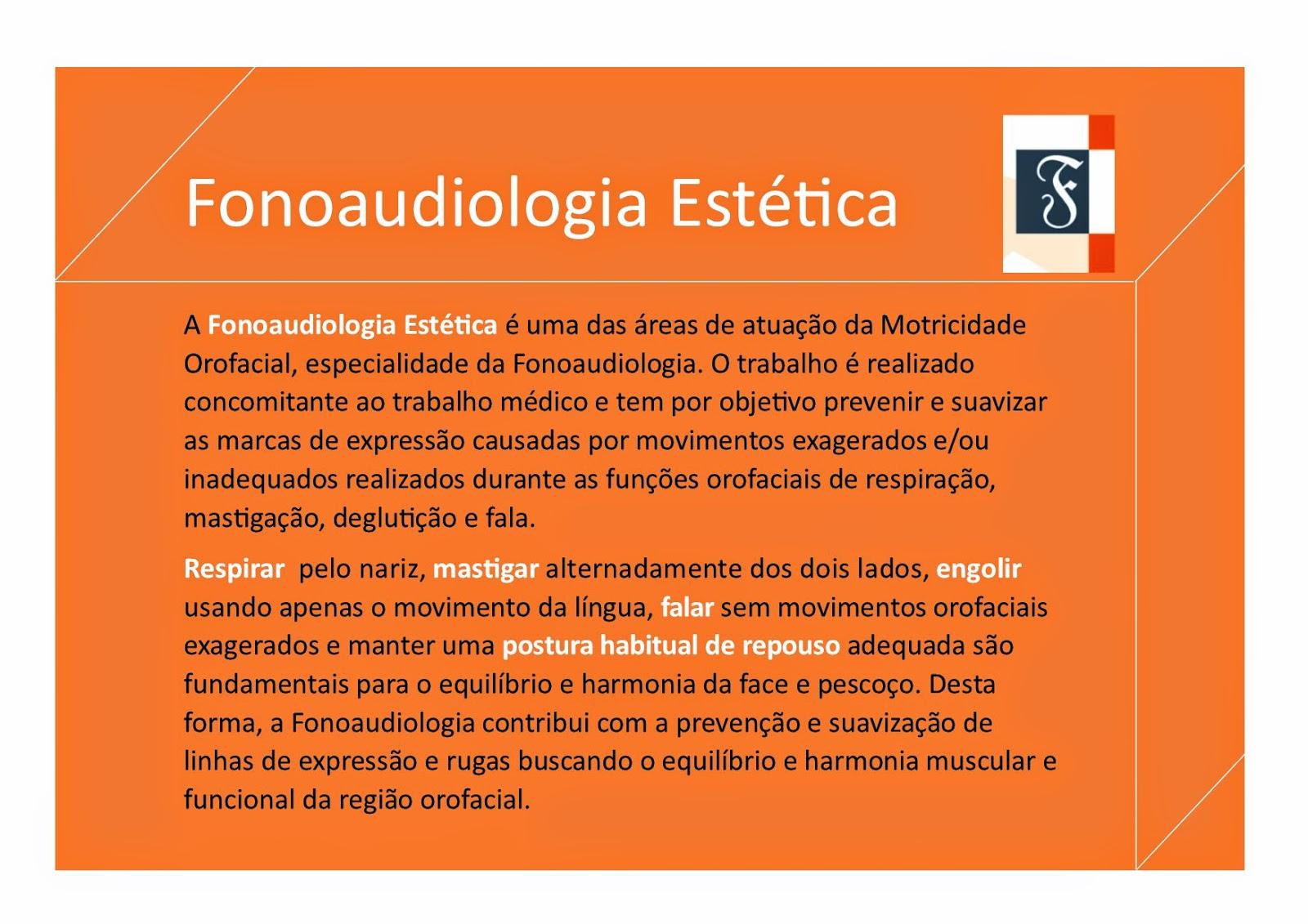 Est%C3%A9tica - FONOAUDIOLOGIA ESTÉTICA