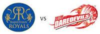Watch IPL 6 T20 2013 Full Video HD Cricket Highlights Score Streaming 4th Match Delhi Daredevils vs Rajasthan Royals.