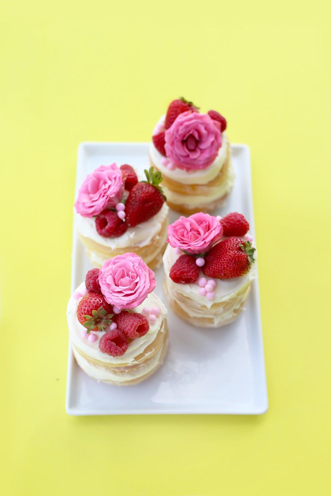 5-Minute No-Bake Naked Cakes! / Hey, EEP!