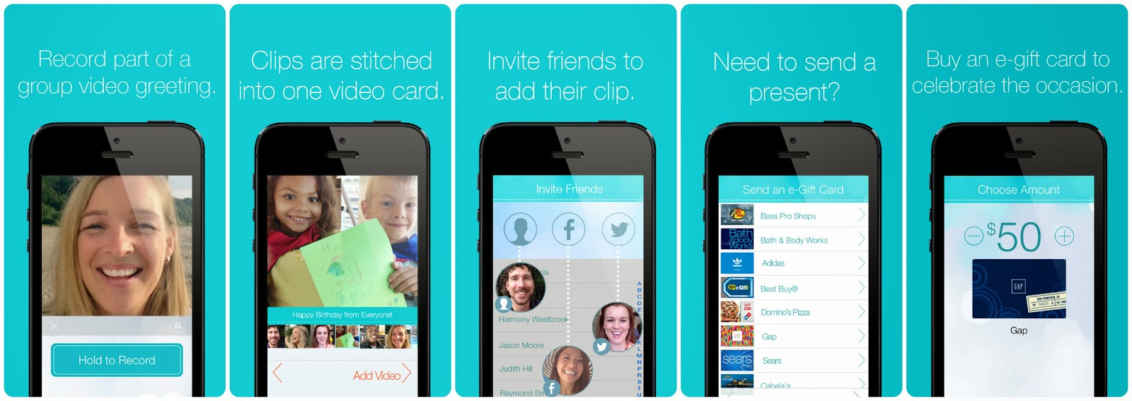 Record A Free Group Greeting On The Vello App Contest Over