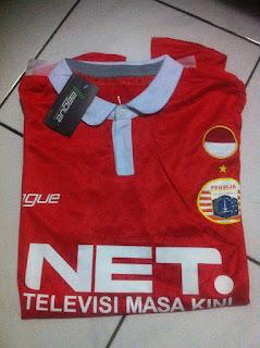 Bukti barang pesanan jersey persija home net Tv sampai ke tangan Ghulam Nurul Huda kualitas grade ori di enkosa sport
