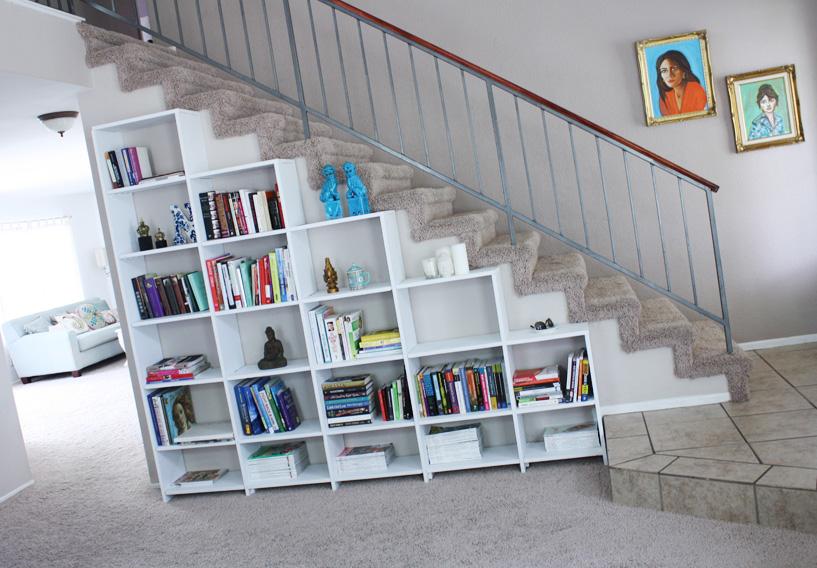 I d e a aprovechar el espacio bajo una escalera for Cama bajo escalera