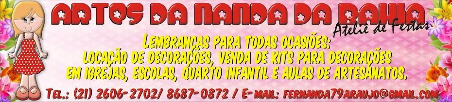 ARTES DA NANDA DA BAHIA