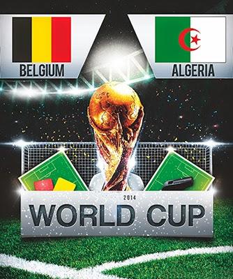 Belgium vs Algeria- World Cup 2014