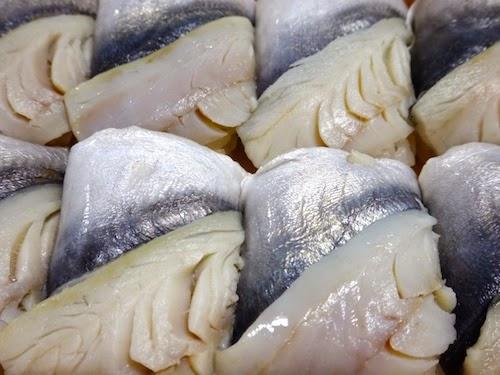 伝承 鰺の押し寿司