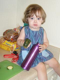 Sasha testing Zucchini