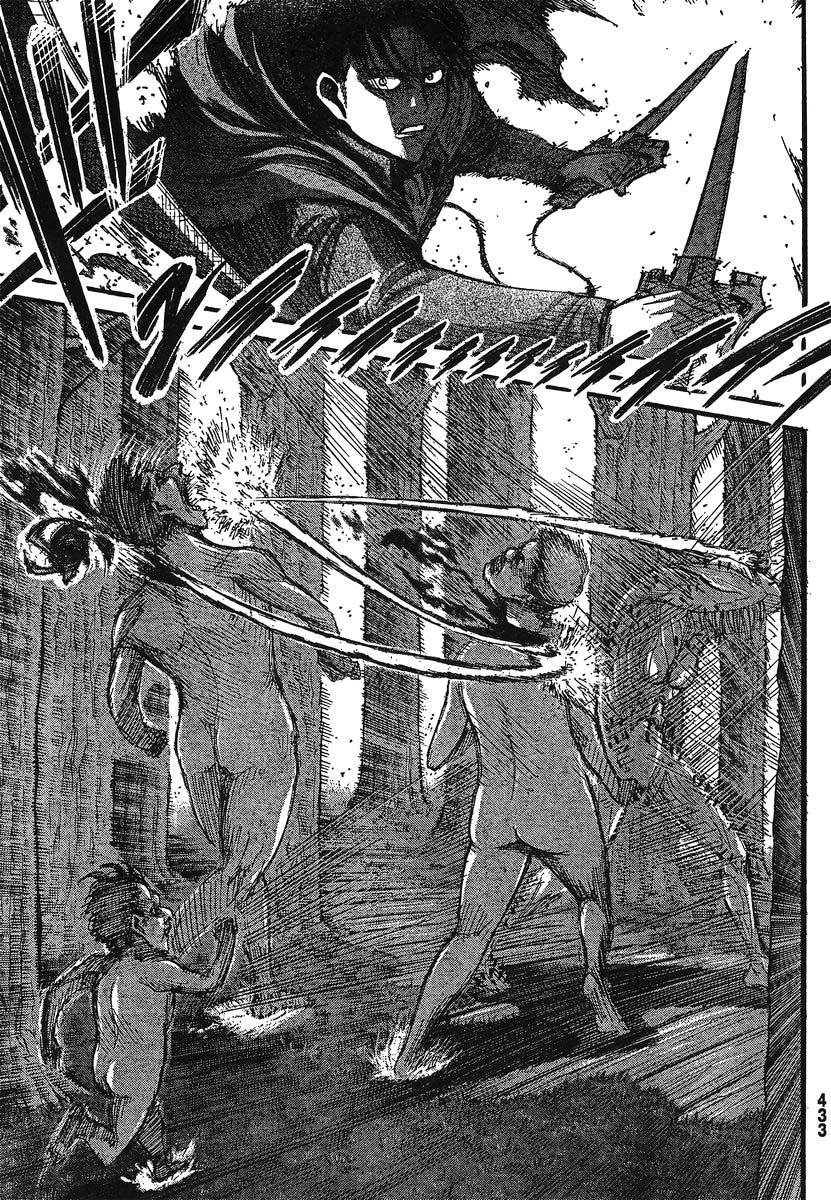 Attack on Titan chap 27 Trang 39