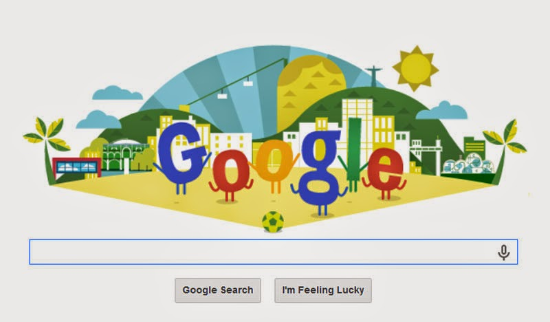 FIFA World Cup 2014 Google Doodle
