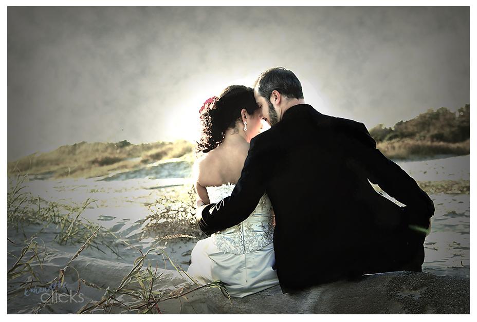 Wedding Beach Photo - Edit Me Challenge 6