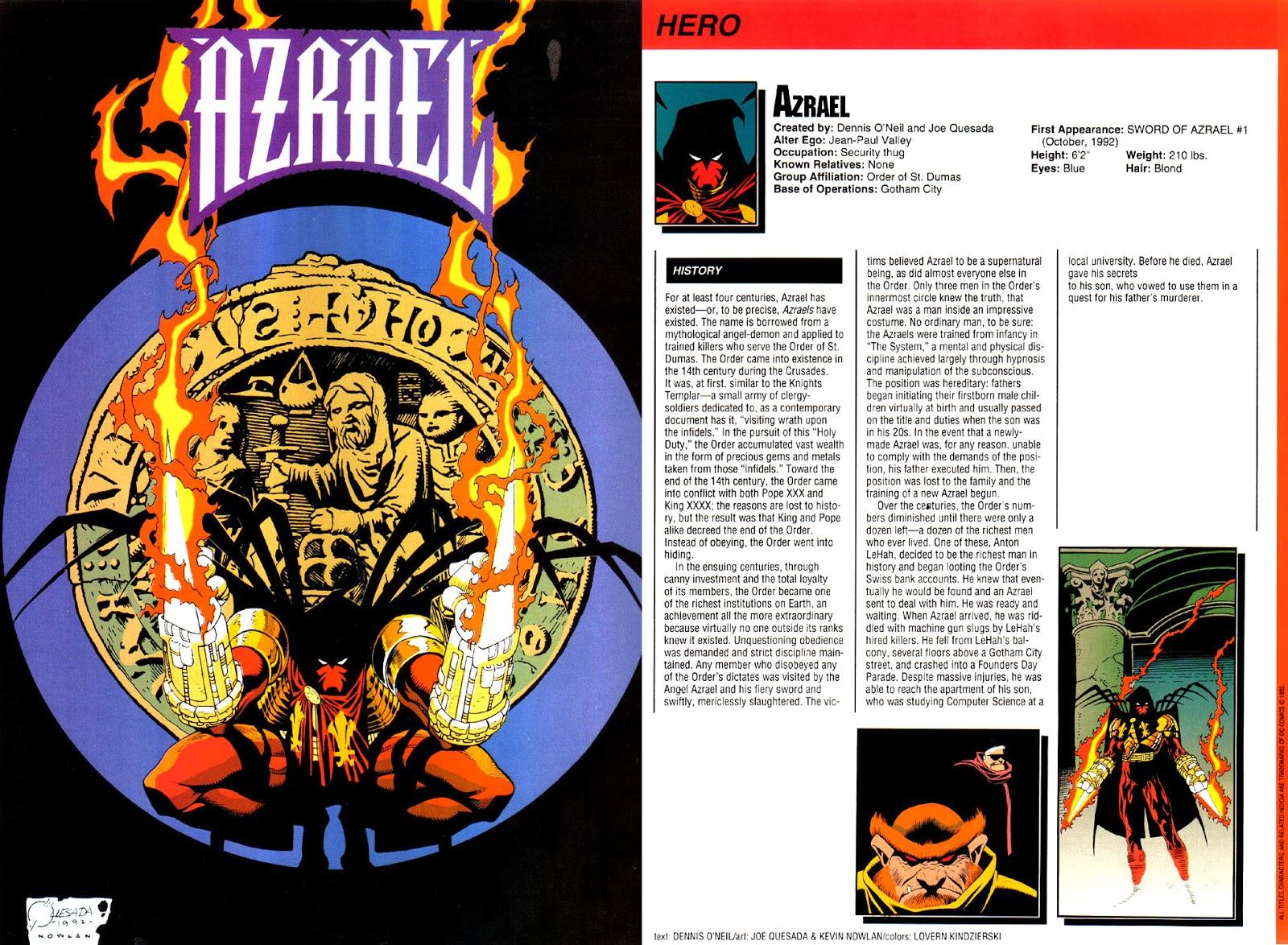 Azrael DC Comics