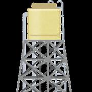 貯水タンク・貯水槽のイラスト