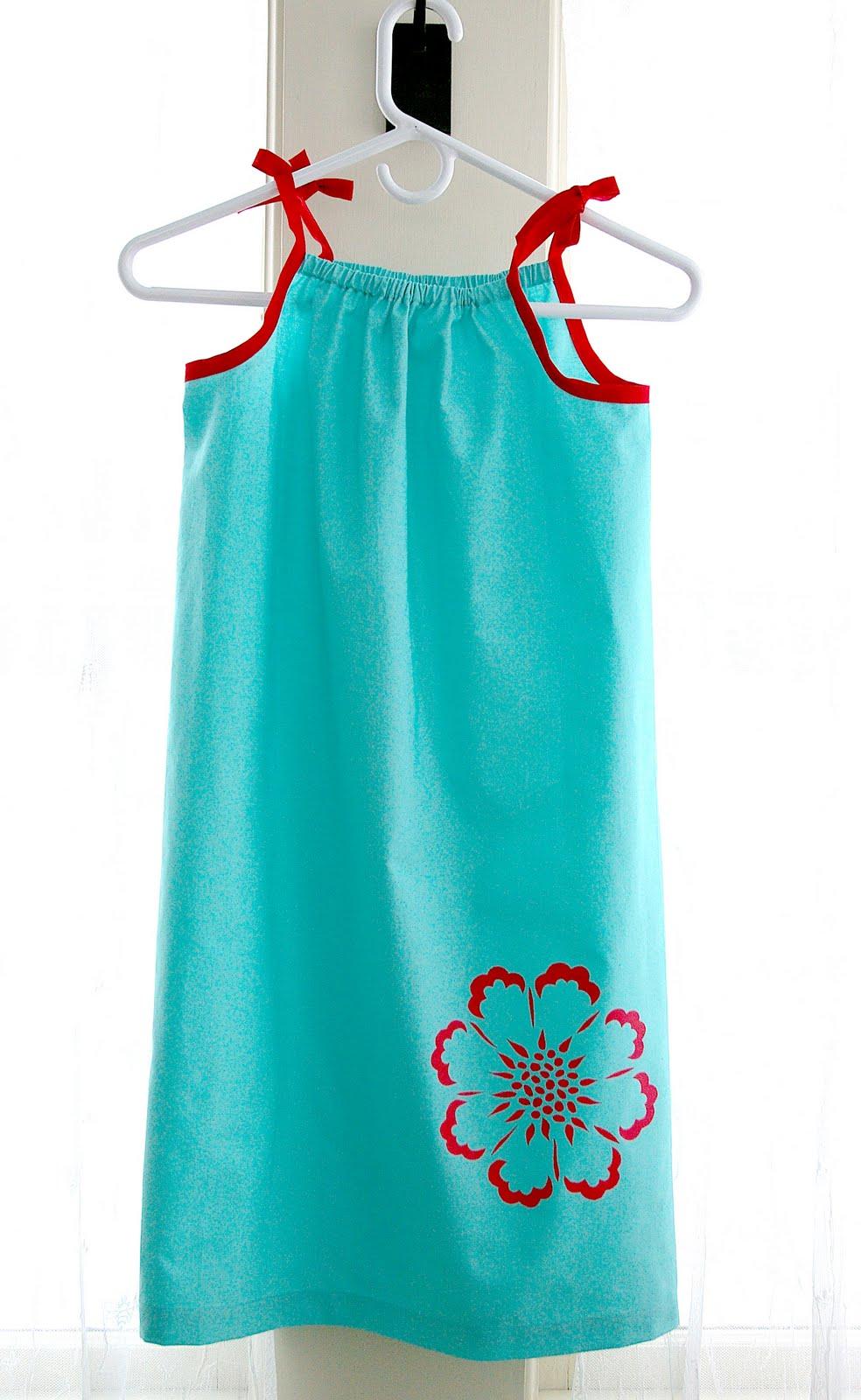 How To Make Children S Pillowcase Dress