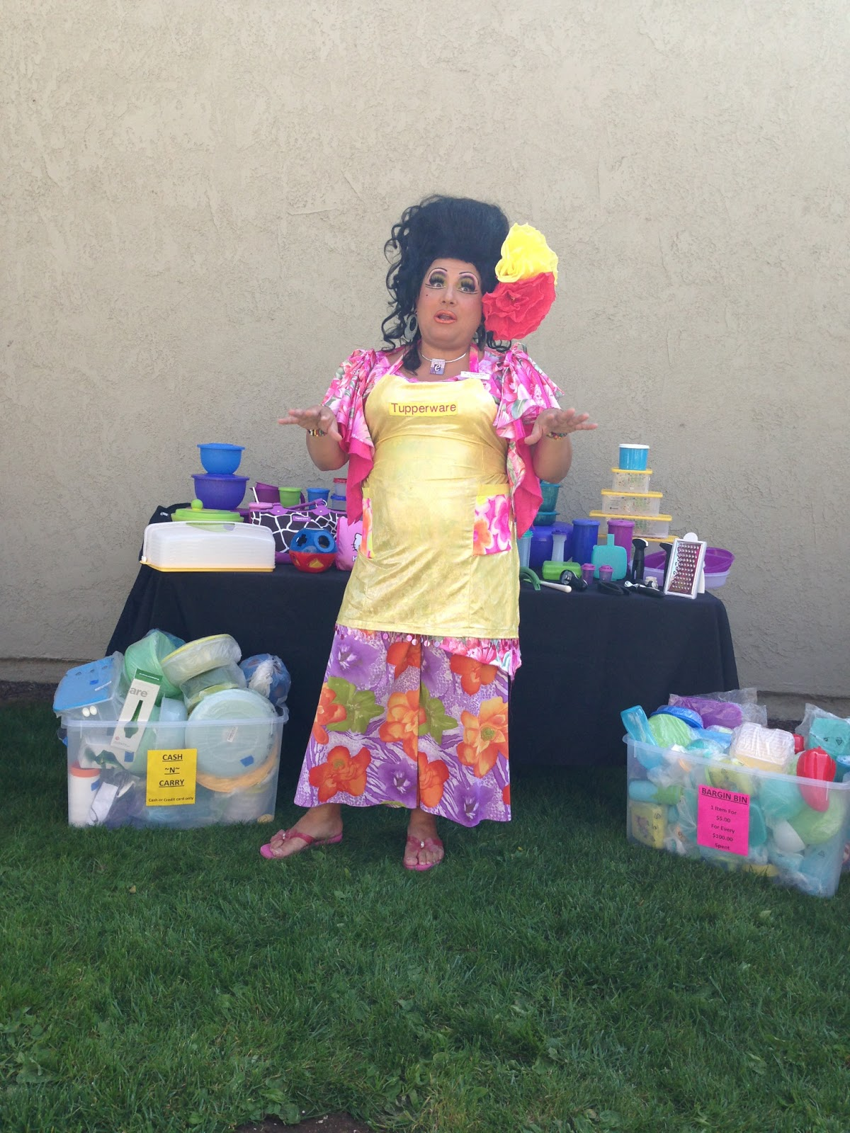 A Tupperware Party Like No Other With the Fabulous Kay Sedia LA – Tupperware Party Invitation