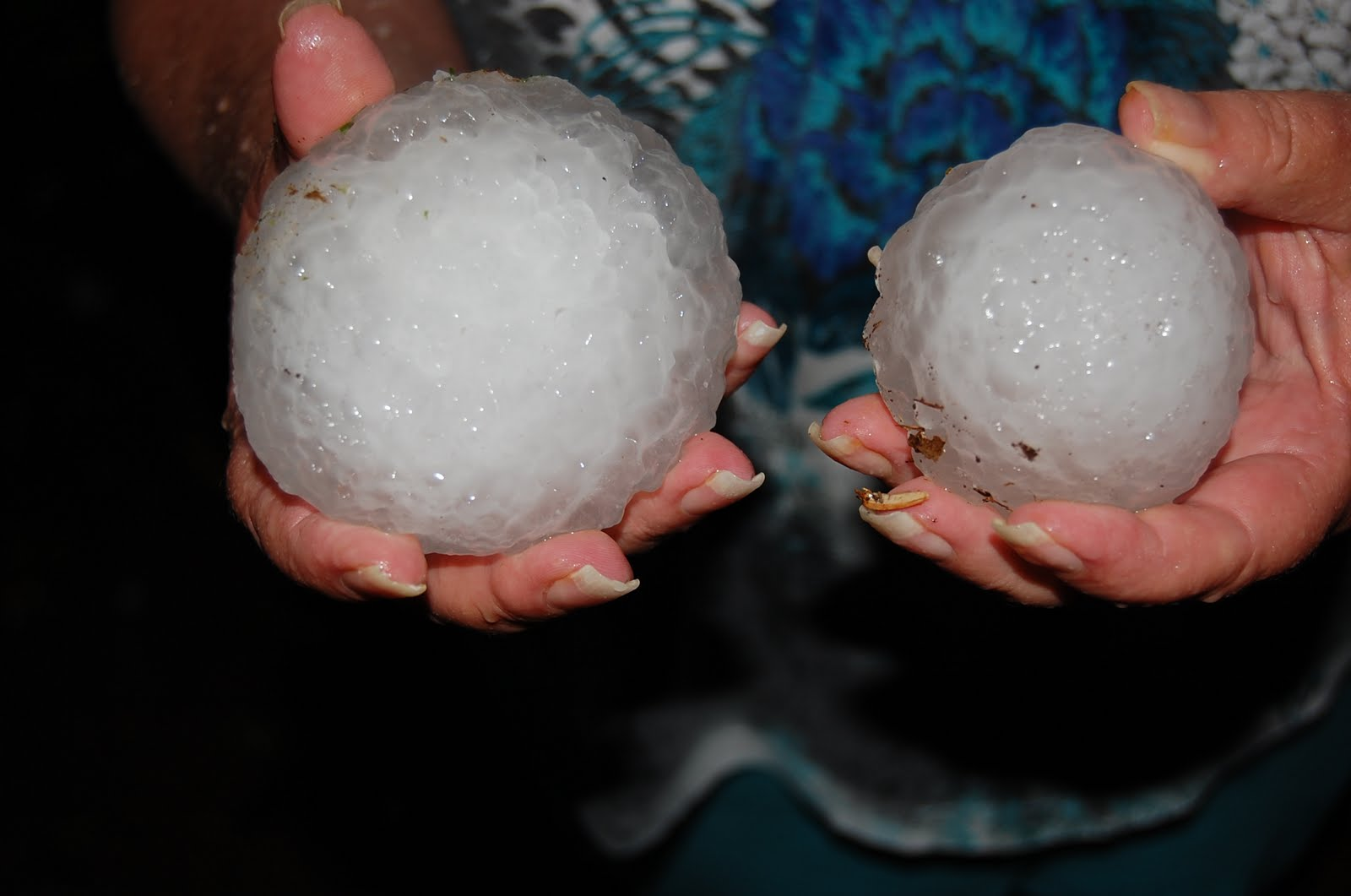 Softball Sized Hail - YouTube