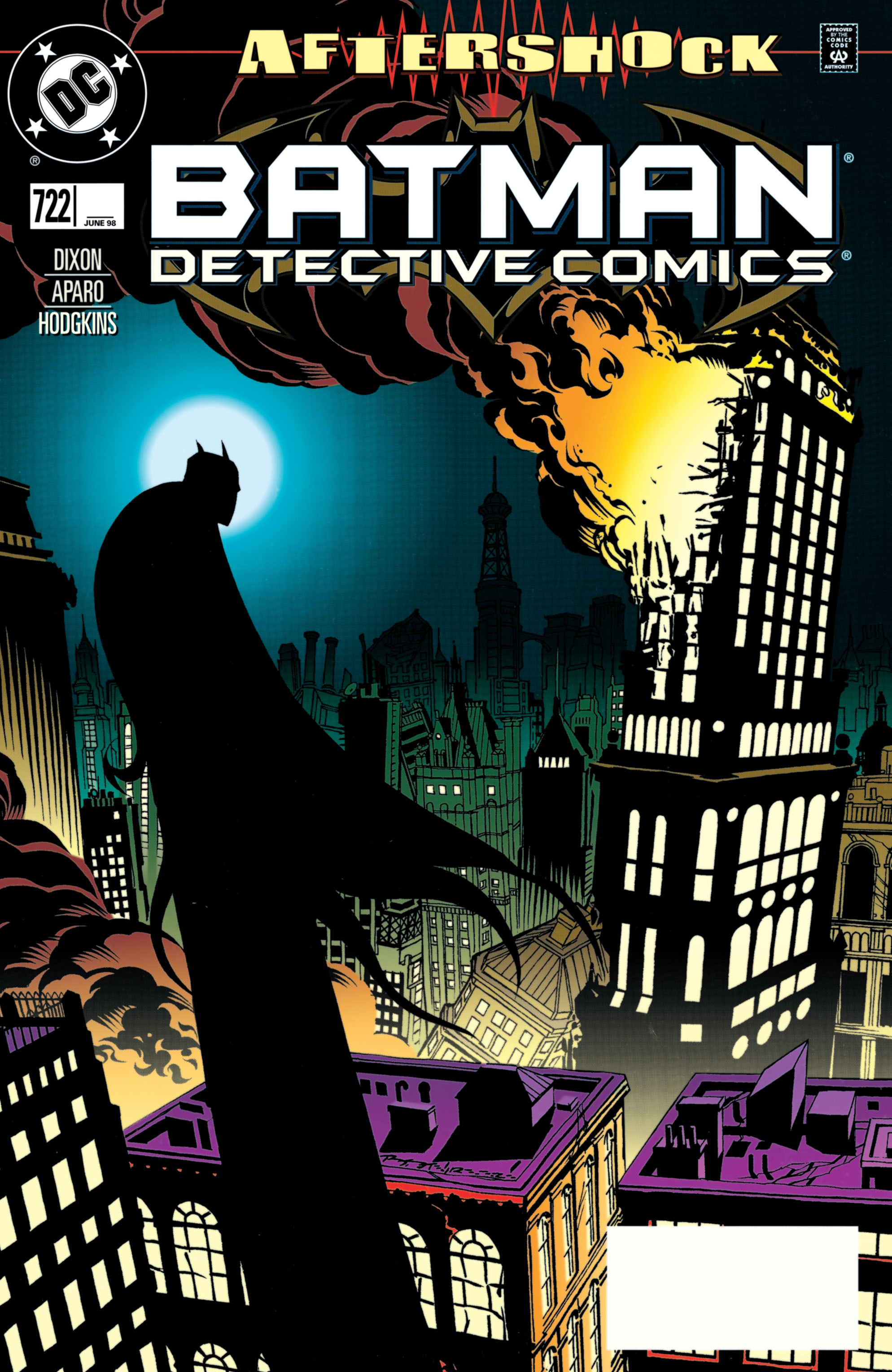 Detective Comics (1937) Issue #722 Page 1