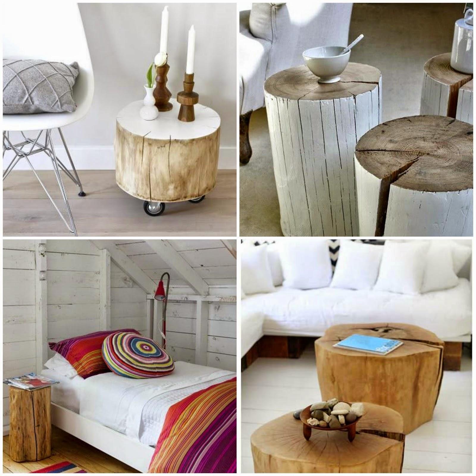 Tronco madera decoracion luis lagos troncos con lmparas para decorar rodajas de madera de - Tronco madera decoracion ...