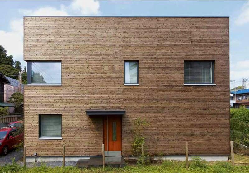 model tampak depan rumah minimalis jepang sederhana kamakura