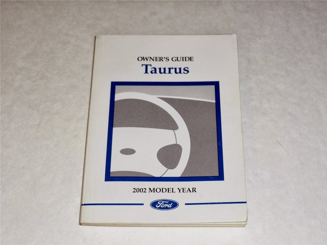 2002 Ford Taurus Owners Manual