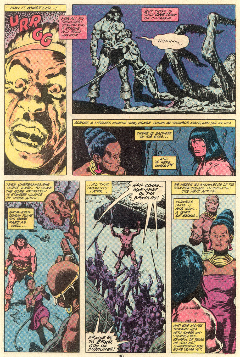 Conan the Barbarian (1970) Issue #101 #113 - English 17