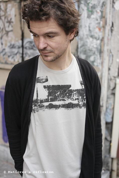 Tshirt Homme Charlotte Sometime Josh