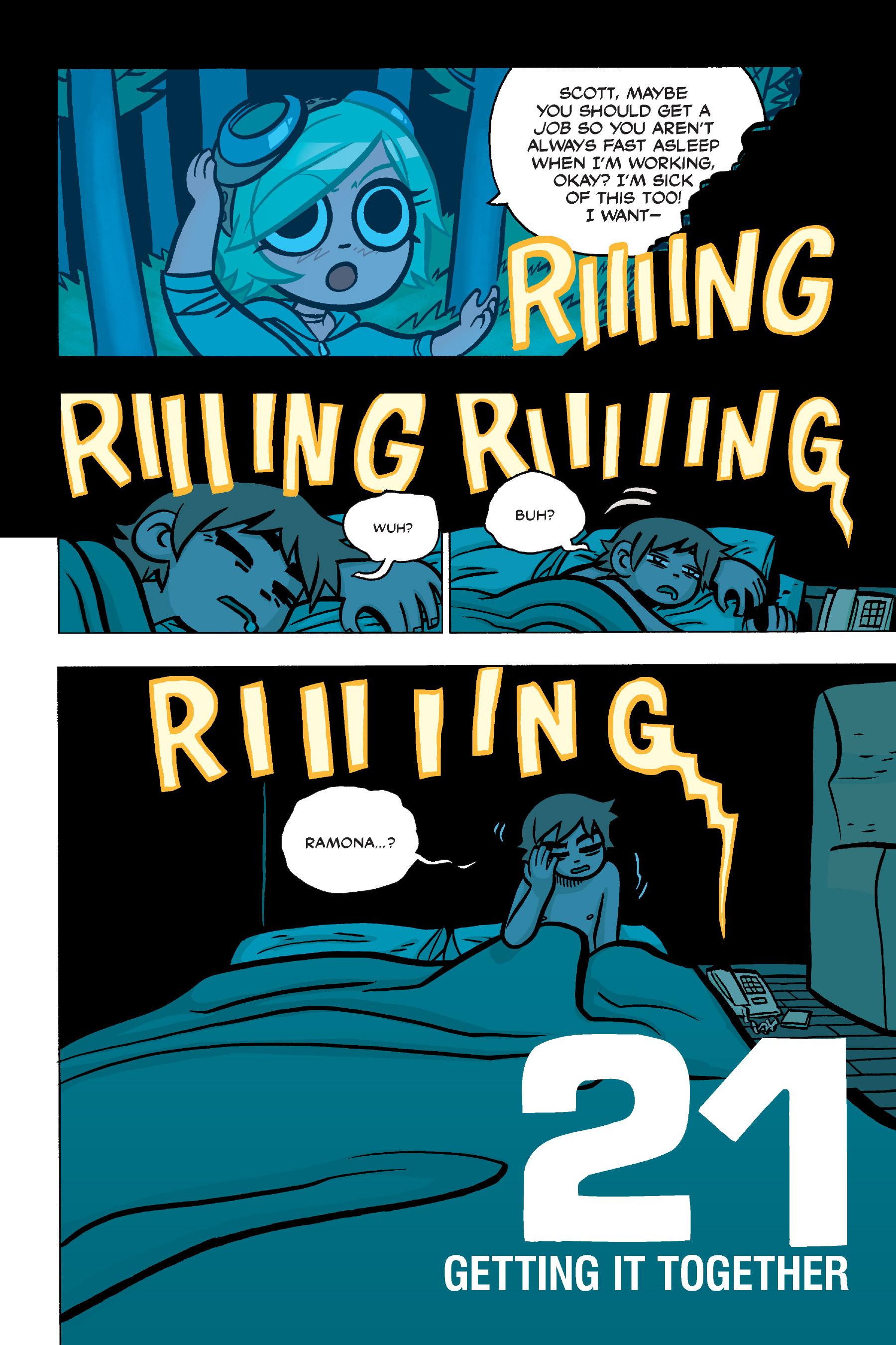 Read online Scott Pilgrim comic -  Issue #4 - 56
