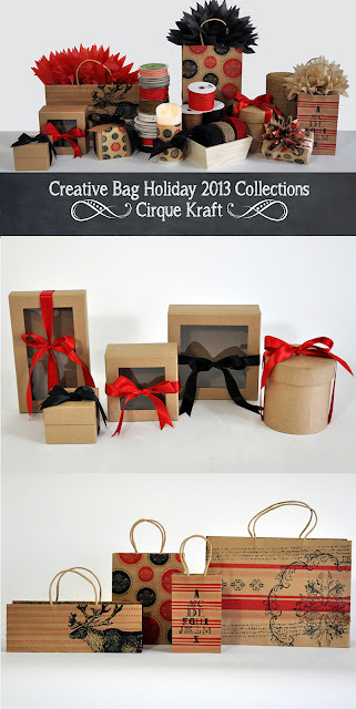 Creative Bag Holiday 2013 Cirque Collection