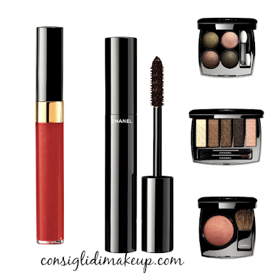 collezione make up les automnales chanel