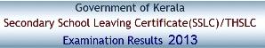 Kerala SSLC Results 2013