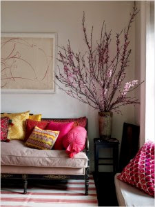 Chic Cherry Blossom Interior Decoration Ideas 225x300