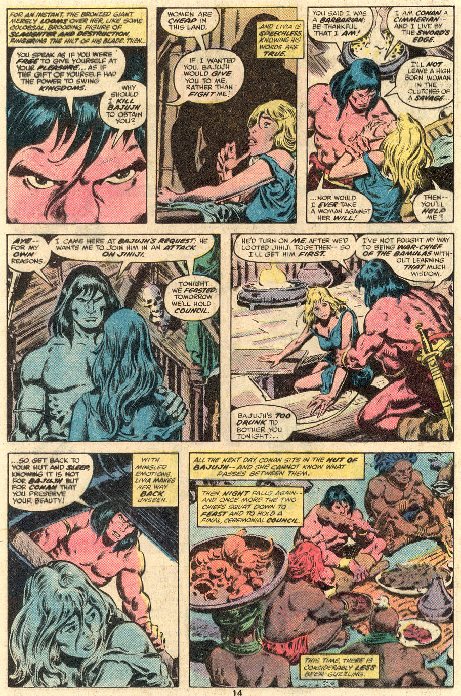 Conan the Barbarian (1970) Issue #104 #116 - English 9