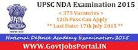 UPSC NDA Examination 2015