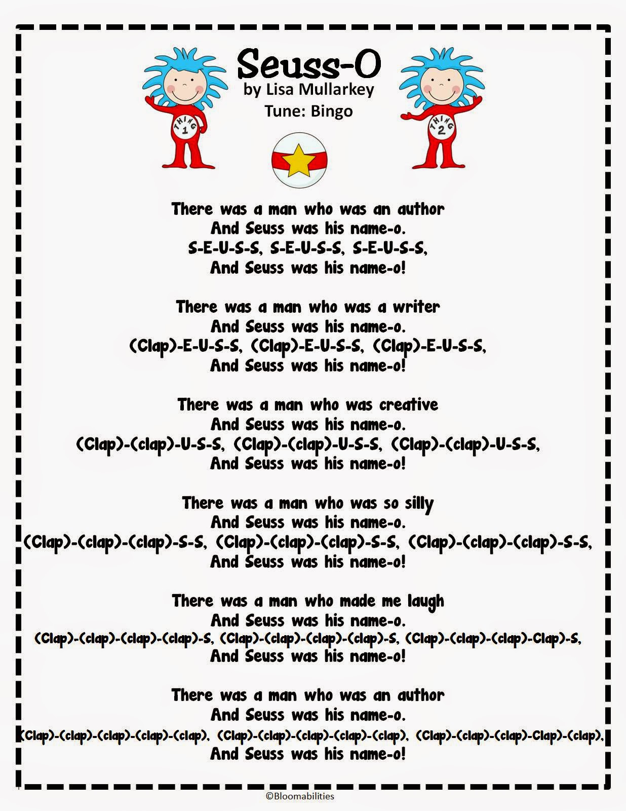 Thanks And Suess Song on Pinterest Dr Seuss Crafts For Preschoolers
