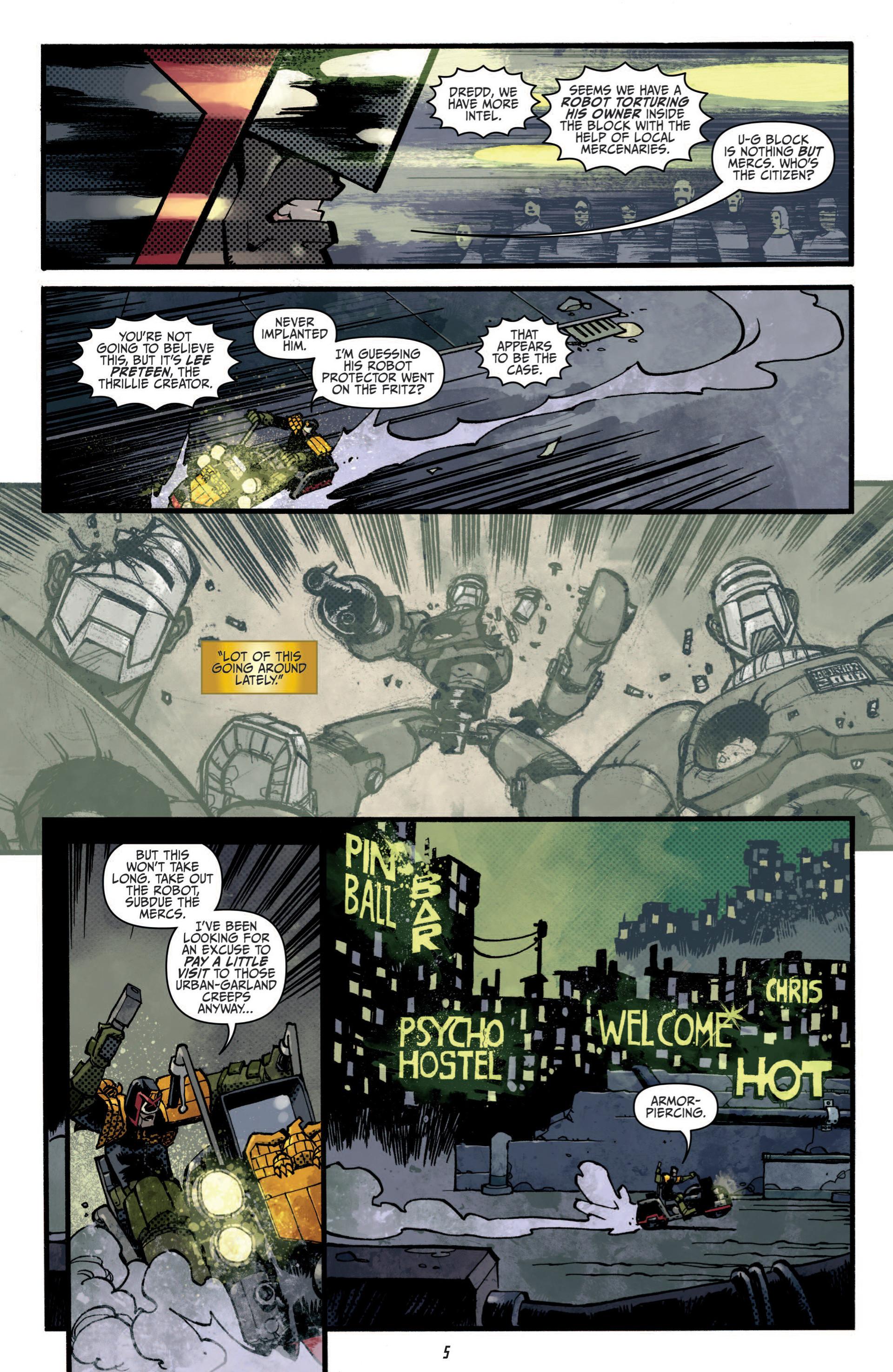 Read online Judge Dredd (2012) comic -  Issue #5 - 7