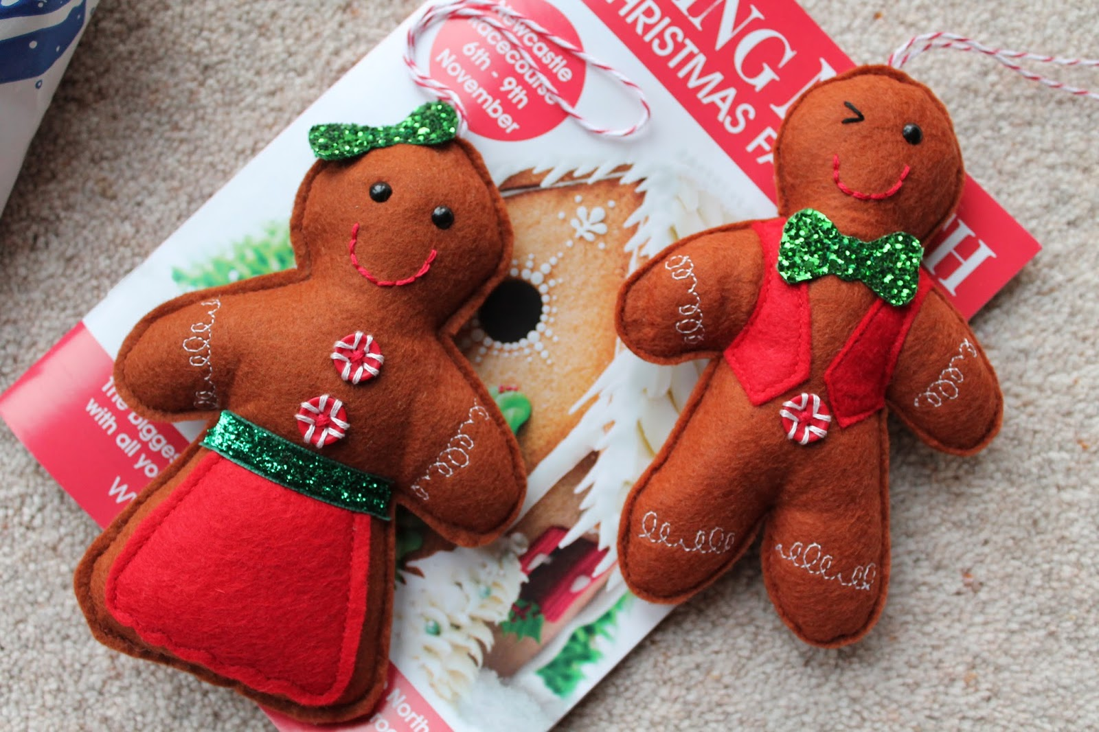 Gingerbread People - Living North Christmas Fair Newcastle Racecourse