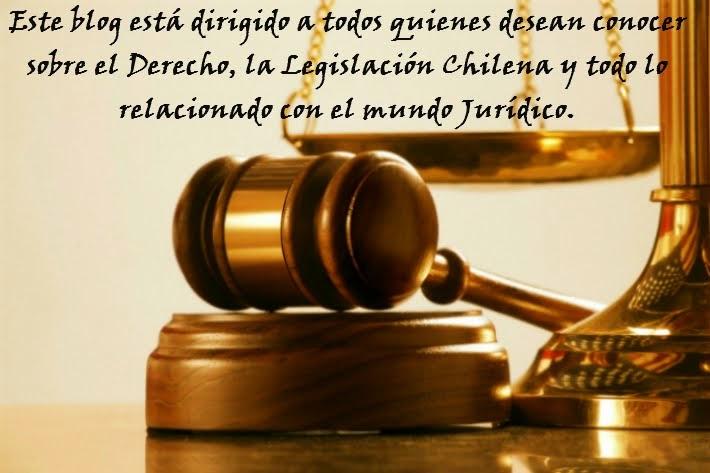 Blog Jurídico Chileno.