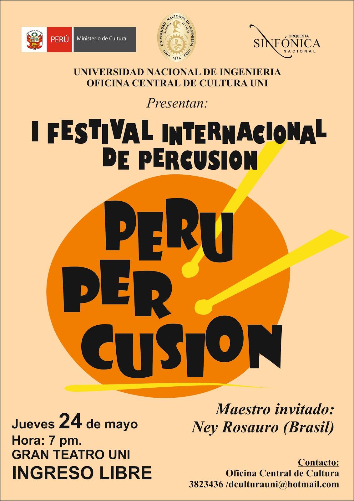 Oficina de relaciones p blicas uni i festival for Oficina nacional de fiscalidad internacional