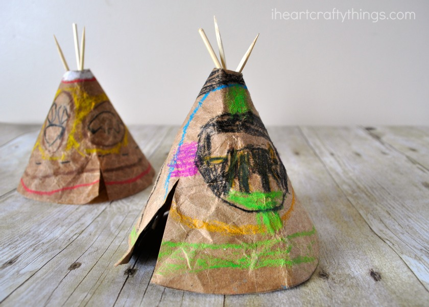 Native American Crafts For Kids To Make