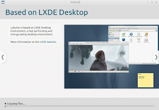 Lubuntu based on LXDE Desktop