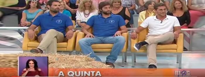 O Agricultor e os Veterinários da Quinta estiveram no Você na TV (vídeo)